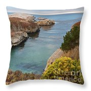China Cove Throw Pillow by Yair Karelic