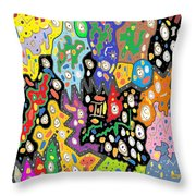 China Fortune Throw Pillow