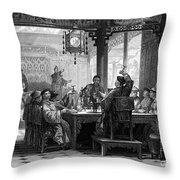China: Mandarins Home Throw Pillow