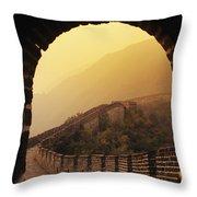 China, Mu Tian Yu Throw Pillow