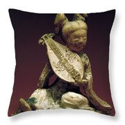 China: Musician Throw Pillow