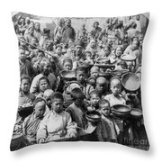 China: Peking, C1902 Throw Pillow
