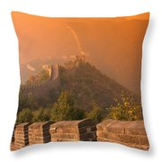 China, The Great Wall Throw Pillow