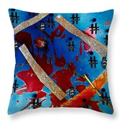 China Touch Throw Pillow