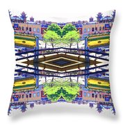 Chinatown Chicago 3 Throw Pillow
