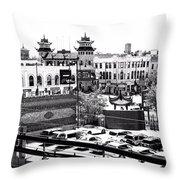 Chinatown Chicago 4 Throw Pillow