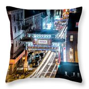 Chinatown Gates Throw Pillow