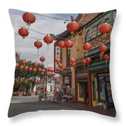 Chinatown Los Angeles 1 Throw Pillow