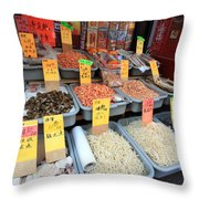 Chinatown Market Throw Pillow
