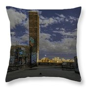 Chinatown Roof Throw Pillow