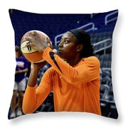 Chine Ogwumike Throw Pillow