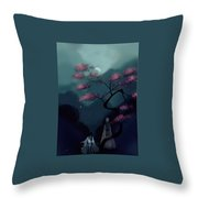 Chinese Ancient Style Throw Pillow