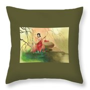 Chinese Ancient Type#1 Throw Pillow
