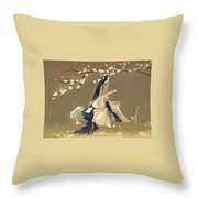 Chinese Ancient Type#2 Throw Pillow