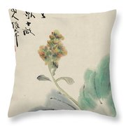 Chinese Cabbage Throw Pillow