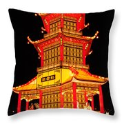 Chinese Lantern Festival British Columbia Canada 8 Throw Pillow