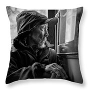 Chinese Man Throw Pillow