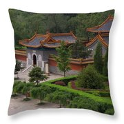 Chinese Palace Throw Pillow