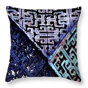 Chinese Pattern Throw Pillow