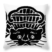 Chinese Symbol: Luck Throw Pillow