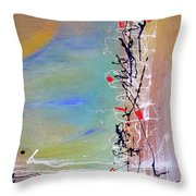 Chinese Whispers Throw Pillow
