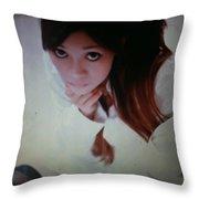 Ching Pose Throw Pillow