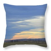 Chinook Panorama Throw Pillow