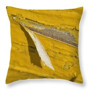 Chipped Paint Throw Pillow