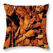Chips From A Dead Tree Throw Pillow