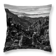 Chiricahua Hoodoo Vista Throw Pillow