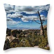 Chiricahua National Monument Throw Pillow