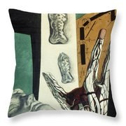 Chirico: Arch, 1914 Throw Pillow