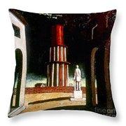 Chirico: Grand Tour, 1914 Throw Pillow