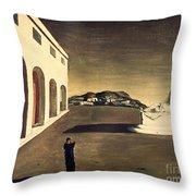 Chirico: Melancolie, 1913 Throw Pillow