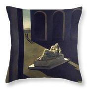 Chirico: Melancolie, 1914 Throw Pillow