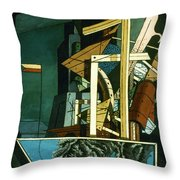 Chirico: Melancolie Throw Pillow