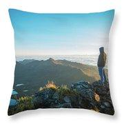 Chirripo National Park Throw Pillow