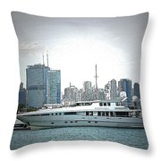 Chiscape Throw Pillow