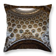 Chisea Di San Luigi Dei Francesi Throw Pillow