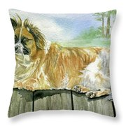 Chisel Throw Pillow