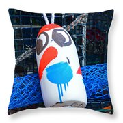 Chistmas Buoy Decoration 657 Throw Pillow