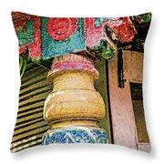 Chitra Museum Goa Throw Pillow