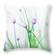 Chives 1 Throw Pillow