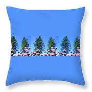Chives Alive Throw Pillow