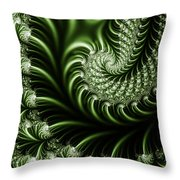 Chlorophyll Throw Pillow
