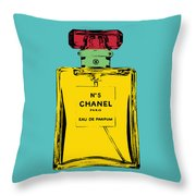 Chnel 2 Throw Pillow
