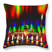 Chnuka 2016 Throw Pillow