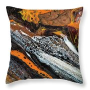 Chobezzo Abstract Series 1 Throw Pillow