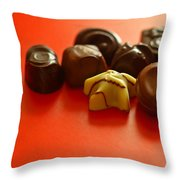 Chocolate Delight Throw Pillow