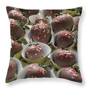 Chocolate Delight Throw Pillow